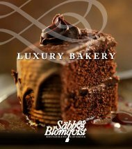 luxury bakery - Säbb & Blomqvist Catering