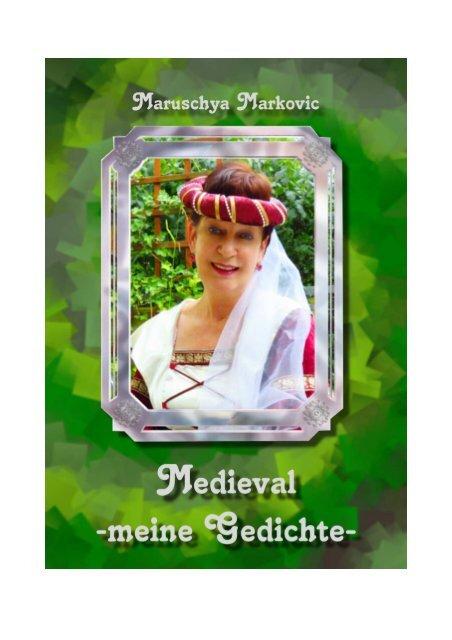 """Gedichtesammlung """"Medieval"""" von Maruschya Markovic"""