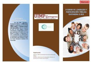 ii curso de liderazgo y participación pública