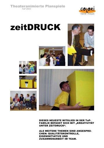 Colori zeitdruck.p65 - St.Gallen, COLORi Theater