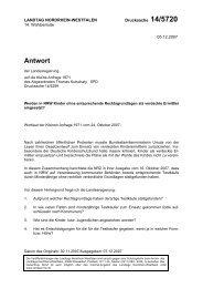 Antwort - Kutschaty, Thomas