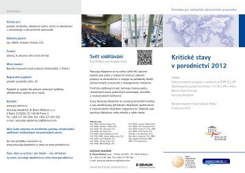 Program pro porodní asistentky ke stažení - Porodnice.cz