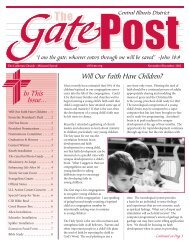 Will Our Faith Have Children? - Central Illinois District - Lutheran ...