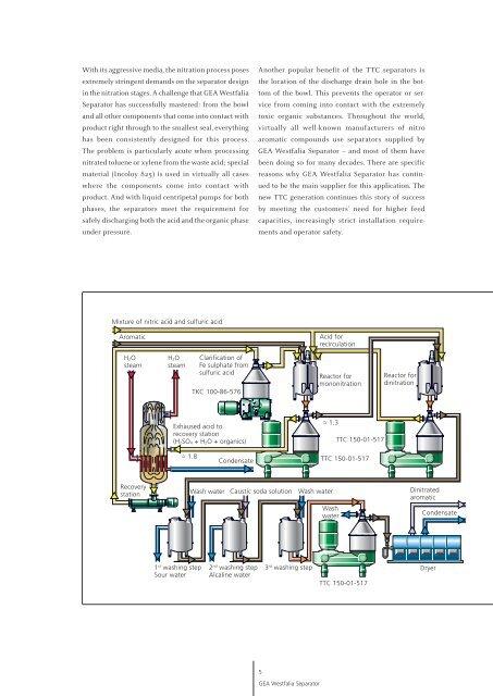 Chemical Industry pdf, 3.7 MB - GEA Westfalia Separator