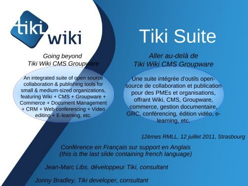 TikiWiki CMS Groupware - Development