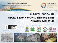 GIS APPLICATION IN GEORGE TOWN WORLD HERITAGE SITE PENANG ...