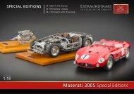 Maserati 300 S Special Editions - CMC