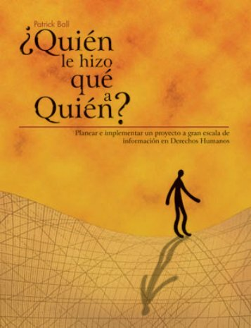 quien? 1 - Human Rights Data Analysis Group