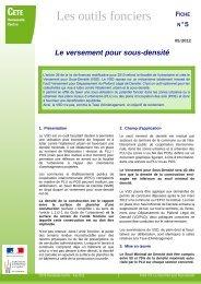 Le versement pour sous-densité - DREAL Haute-Normandie