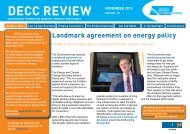 decc review november 2012 - Society of Maritime Industries