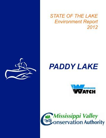PADDY LAKE - Mississippi Valley Conservation