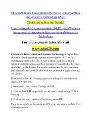 EDU 620 Week 1 Assignment Response to Intervention and Assistive Technology (Ash).pdf