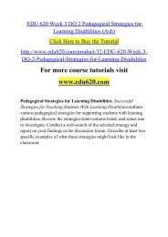 EDU 620 Week 3 DQ 2 Pedagogical Strategies for Learning Disabilities (Ash).pdf