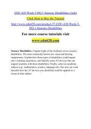 EDU 620 Week 5 DQ 1 Sensory Disabilities (Ash).pdf