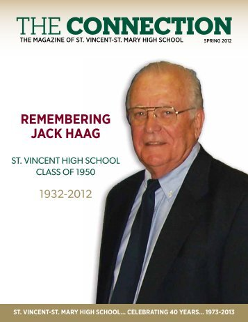 Spring 2012 - St. Vincent-St. Mary High School
