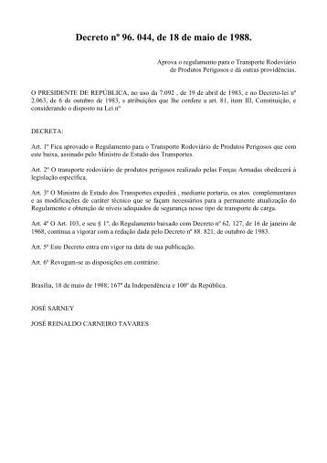 Decreto nº 96 - Crea-RS