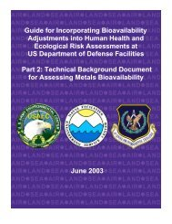 Guide for Incorporating Bioavailability Adjustments into Human ...