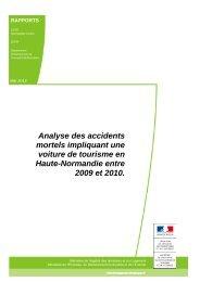 Accidents mortels impliquant une voiture de tourisme en Haute ...