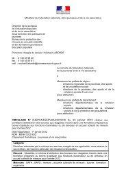 modle de circulaire - Circulaires.gouv.fr