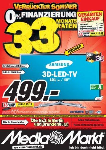 3D-LED-TV - Urban Media GmbH
