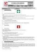 Scheda di sicurezza CALSTOP Anticalcare in Tabs - Pellonisrl.it - Page 2