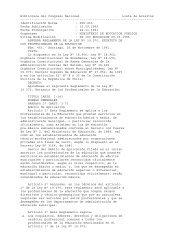 Decreto 453, que aprueba estatutos de los profesionales de la ...