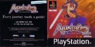Alundra 2 - UK Manual - PSX - RPGamers-fr