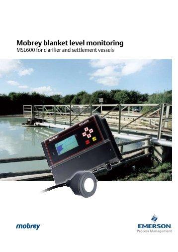 Mobrey blanket level monitoring