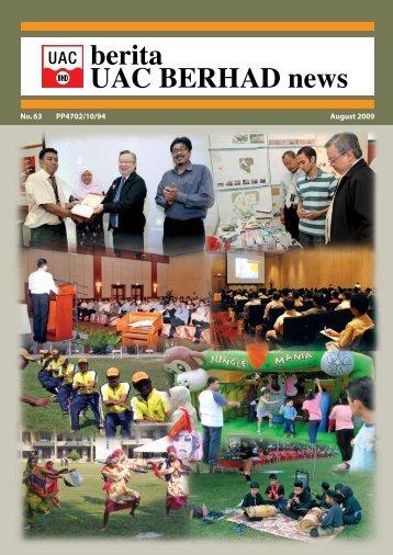 berita UAC BERHAD news