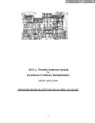 2012 J. Timothy Anderson Awards Excellence in Historic ...