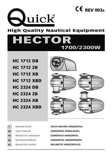 hector 1700/2300w - Quick® SpA