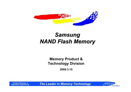 Samsung NAND Flash Memory - Data I/O Corporation