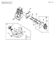 Homelite HB25155 UT-08123 - Small Engine Parts