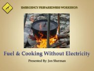 Fuel & Cooking Without Electricity - I Will Prepare