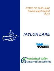 TAYLOR LAKE - Mississippi Valley Conservation