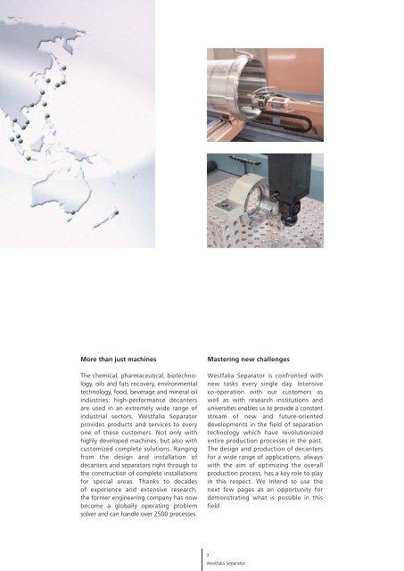 Decanters from GEA Westfalia Separator pdf, 2.6 MB