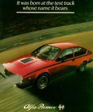 GTV6 Balocco, USA, 1982 - GTV6 et 156 GTA