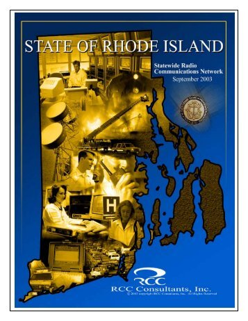 RCC Consultants Final Report - State of Rhode Island: Public Safety ...