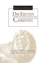 Die Ersten Christen: Am Anfang War Die Liebe - Plough