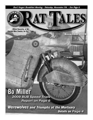 November 2009 - Triumph Riders Association of Portland