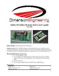 SyRen10-20 - Dimension Engineering