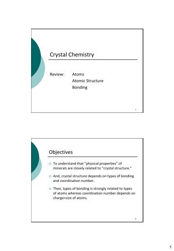 GEOL 237 Principles of Chemical Geology