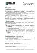Requerimento padrão - Crea-RS - Page 2