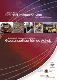 Diogelwch ar y Ffyrdd Cymru Gyfan - Road Safety Wales