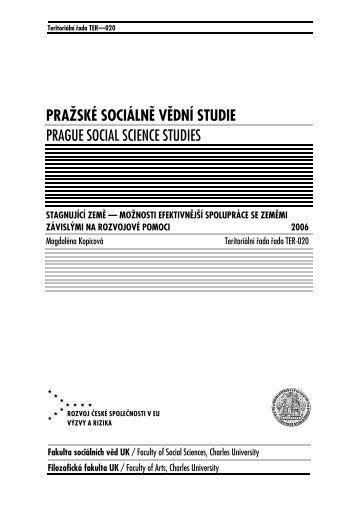 218 kB - publikace FSV UK