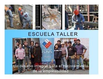 ESCUELA TALLER - Inicio