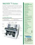 CURRENCY COUNTERS 75 Series - DieboldDirect - Page 2