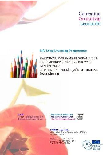 Life Long Learning Programme - Mutlu Birey