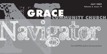 JULY 2009 - Grace Community Church