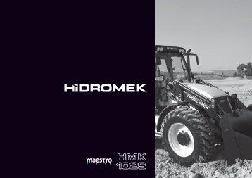 102S TR katalog beyaz - Hidromek
